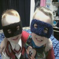 Super Hero Mask/Ear Warmers