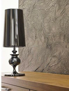 texture wall Textured Wallpaper, Textured Walls, Painting Techniques, Table Lamp, Studio, Lighting, Home Decor, Style, Summer Time