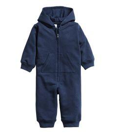 Sweatshirt Jumpsuit | Dark blue | Kids | H&M US