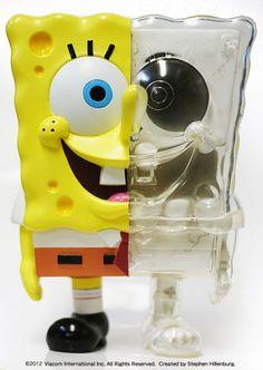 SpongeBob X-RAY DX SET — DOARAT×SECRET BASE