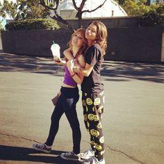 Zendaya Coleman Instagram 2013 | zendaya coleman bella thorne instagram photo amies friends shake it up