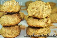 Cookies de Banana com Aveia » Receitas Saudáveis, Tortas e Bolos » Guloso e Saudável
