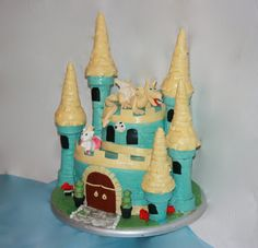 Castle Cake  SUGAR JEWELS CAKES & CONFECTIONS
