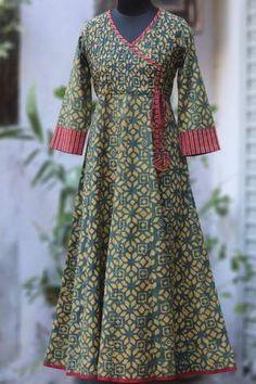 wear them long: kurtas & anarkalis Sleeves Designs For Dresses, Dress Neck Designs, Stylish Dress Designs, Blouse Designs, Dress Indian Style, Indian Fashion Dresses, Indian Designer Outfits, Churidar Designs, Kurta Designs Women