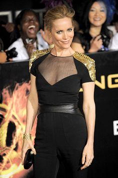 "'The Hunger Games' premiere--""Allen Gregory"" and ""The Change Up"" actress Leslie Mann."