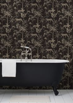 Pre Orders for 2020 are now available. We reopen on the of January with door to door delivery available in South Africa. Get in touch with our sales team to secure your order. Bathroom Goals, Bathroom Inspo, Bathroom Inspiration, Design Inspiration, Design Interiors, Interior Design, Wallpaper Suppliers, Sansa, Clawfoot Bathtub