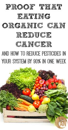 Proof That Eating Organic Can Reduce Cancer  How To Reduce Pesticides In Your System In One Week
