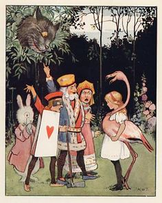 チェシャ猫とアリス