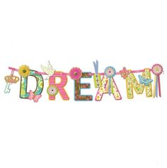Dream on a Ribbon Wall Hanging