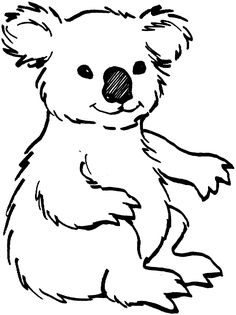 bear coloring pages | Bear Coloring Pages