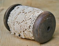 spool of vintage lace