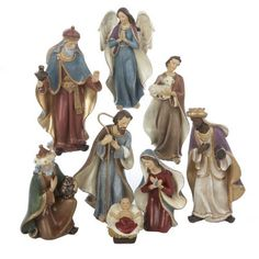Kurt Adler C5709 Resin Nativity Figurine Set, 6.25-Inch, Set of 8, http://www.amazon.ca/dp/B00BMQ6QOA/ref=cm_sw_r_pi_awdl_Praowb33T7A37