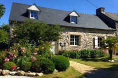 Ferienhaus Bretagne Lescorveau auf der Ile Grande an der Rosa-Granit-Küste.