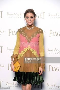 Olivia Palermo attends Piaget Sunlight Journey Collection Launch on June 13 2017 in Rome Italy