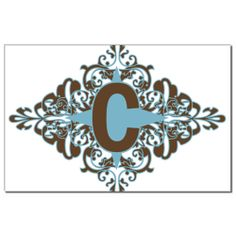 Monograma C de la letra C Impresiones porción CMonogram