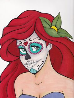 Day of the Dead Ariel by Sal Galindo