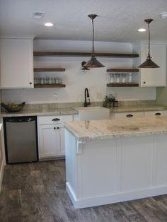 Lovely Basement Kitchen Cabinets