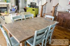 1000 images about paint stain refinishing on pinterest interior doors annie sloan chalk Restaining kitchen table