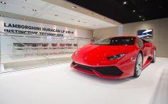 Lamborghini Huracan, le rouge lui va plutôt bien !