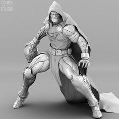 Dr.Doom by Mars M. | Fractal Art | 3D | CGSociety