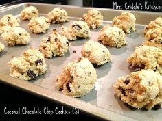 Mrs. Criddle's dark chocolate chip coconut low carb cookies...THM friendly.