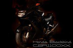 Honda Blackbird CBR1100xx - honda's answer to the top speed war with Kawasaki and Suzuki.