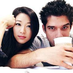 "Arden Cho: ""Coffee time #Wolfcon #Teenwolf"""
