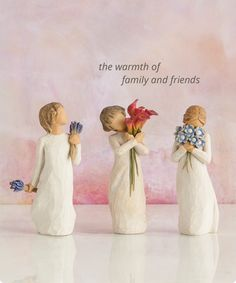 Willow Tree Gift Ideas: Healing, Encouragement and Hope Willow Tree Figures, Willow Tree Nativity, Willow Tree Angels, Weeping Willow, Willow Figurines, Tree People, Get Well Soon Gifts, Christmas Clay, Wooden Art