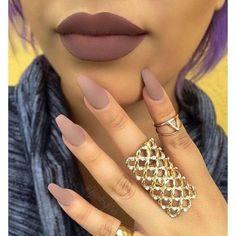Lip Color + Nail Color