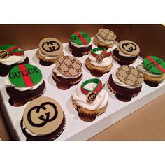 Gucci cupcakes by Barra's Bakes
