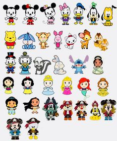 Disney characters ♥️