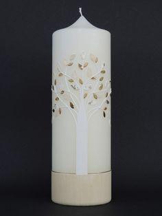 Hochzeitskerze Nr.107-C von CERA-Kerzen auf DaWanda.com