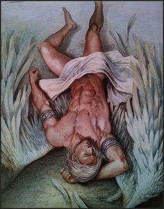 Master with Angel Wings - Aenaluck. De Elder Scrolls