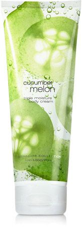 Cucumber Melon Triple Moisture Body Cream - Signature Collection - Bath & Body Works