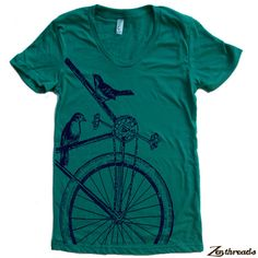 Womens SPARROW BIKE T Shirt