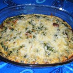"Spinach Bars- ""Kids eating spinach?! When it's baked into these cheesy squares they'll be asking for more!"""