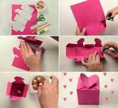 Image de diy, box, and heart