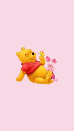Winnie the Pooh Winnie The Pooh Drawing, Cute Winnie The Pooh, Winnie The Pooh Friends, Bear Wallpaper, Iphone Background Wallpaper, Aesthetic Iphone Wallpaper, Winnie The Pooh Background, Disney Background, Images Disney