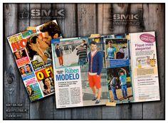 «Uma nova faceta: Rúben modelo» in Revista Telenovelas.