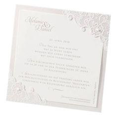 Einladungs-/Save the Date-/Menükarte - Sophie