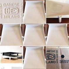 Portadocumenti Ufficio Bianco Vintage 1976 DANESE Milano Enzo MARI Usato 📝🗃🗄 | eBay