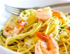 Spaghetti mit Garnelen und Ananas - Rezept - ichkoche.at