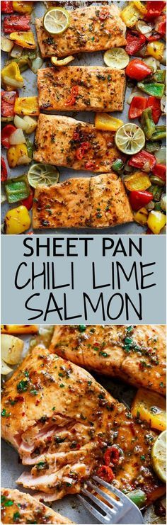 Sheet Pan Chili Lime