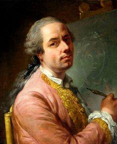 Elisabeth-Louise Vigée Le Brun (1755-1842): Portrait of an artist. c. 1773.