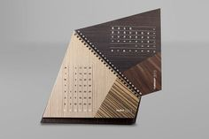 Alpi Wood - Calendar 2013 by Fabio Faberi, via Behance