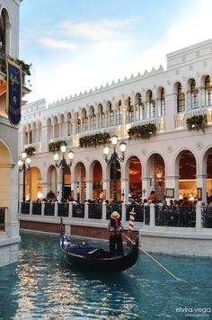 Las Vegas...thank you for my gondola ride baby  It was romantic  love you handsome