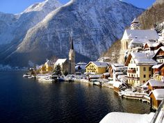 Hallstatt in Austria. The village and the home of approximately 1,000 people. You will have the opportunity to explore the first ever prehistoric mines.