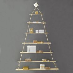 Alternative Contemporary Christmas Trees for Small Spaces