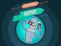 Good-design-inspire #illustration #design #inspiration