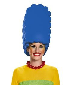 Another great find on #zulily! Marge Simpsons Costume Wig - Adult #zulilyfinds